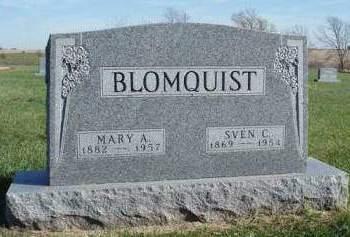 BLOMQUIST, SVEN C. - Madison County, Iowa | SVEN C. BLOMQUIST