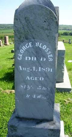 BLOSSER, GEORGE B. - Madison County, Iowa | GEORGE B. BLOSSER