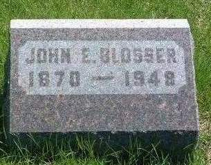 BLOSSER, JOHN ELLIOT - Madison County, Iowa | JOHN ELLIOT BLOSSER