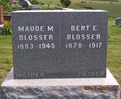 BLOSSER, ALBERT ELDON (BERT) - Madison County, Iowa | ALBERT ELDON (BERT) BLOSSER