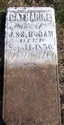 BODAM, CATHERINE - Madison County, Iowa | CATHERINE BODAM