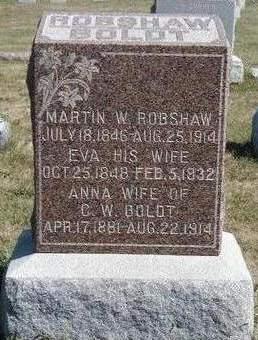 BOLDT, ANNA ROBERTA - Madison County, Iowa   ANNA ROBERTA BOLDT
