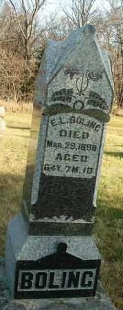 BOLING, EDWARD L. - Madison County, Iowa | EDWARD L. BOLING