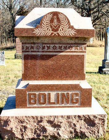 BOLING, FAMILY STONE - Madison County, Iowa | FAMILY STONE BOLING