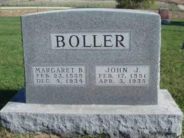 BOLLER, JOHN J. - Madison County, Iowa | JOHN J. BOLLER