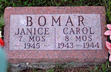 BOMAR, JANICE ELAINE - Madison County, Iowa | JANICE ELAINE BOMAR