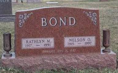 BOND, NELSON ORICE - Madison County, Iowa | NELSON ORICE BOND