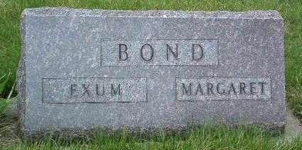 BOND, MARGARET JANE - Madison County, Iowa | MARGARET JANE BOND