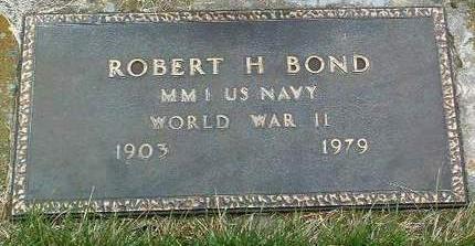 BOND, ROBERT HORACE - Madison County, Iowa   ROBERT HORACE BOND