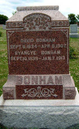 BONHAM, DAVID - Madison County, Iowa   DAVID BONHAM
