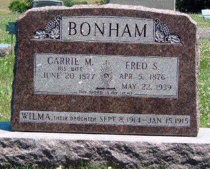 BONHAM, STEPHEN A. FRED - Madison County, Iowa | STEPHEN A. FRED BONHAM
