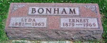 BONHAM, LYDA ANN - Madison County, Iowa | LYDA ANN BONHAM