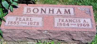 BONHAM, FRANCIS ALLEN - Madison County, Iowa | FRANCIS ALLEN BONHAM