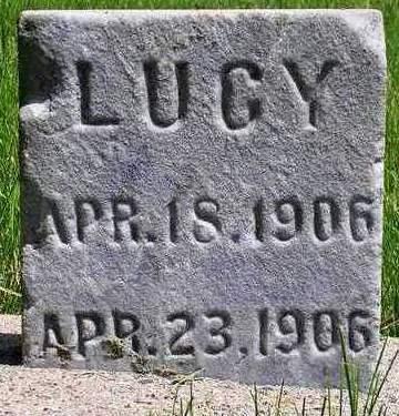BOOS, LUCY ANNA AUGUSTA - Madison County, Iowa | LUCY ANNA AUGUSTA BOOS