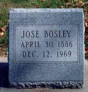 BOSLEY, JOSE - Madison County, Iowa | JOSE BOSLEY