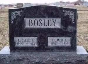 BOSLEY, HOMER DEAN - Madison County, Iowa | HOMER DEAN BOSLEY