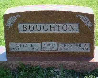 BOUGHTON, ETTA EDITH - Madison County, Iowa | ETTA EDITH BOUGHTON