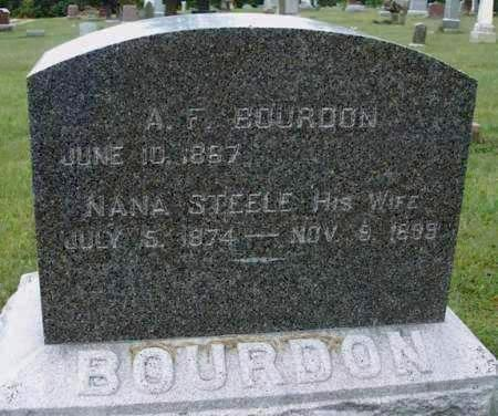 BOURDON, ANDREW F. - Madison County, Iowa | ANDREW F. BOURDON