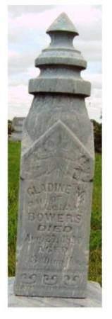 BOWERS, GLADINE M. - Madison County, Iowa | GLADINE M. BOWERS