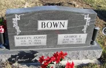 BOWN, GEORGE I. - Madison County, Iowa   GEORGE I. BOWN
