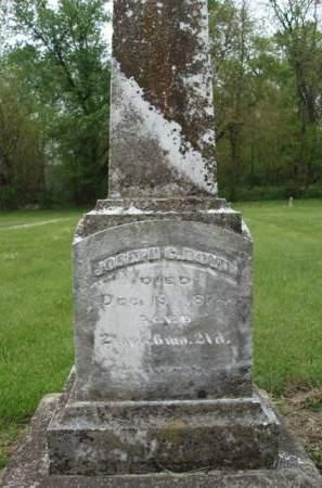 BOYD, JOSEPH C. - Madison County, Iowa | JOSEPH C. BOYD