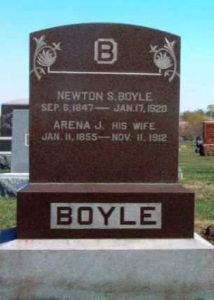 BOYLE, NEWTON SMITH - Madison County, Iowa   NEWTON SMITH BOYLE