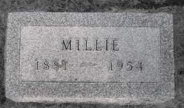 BOYLE, MILLIE - Madison County, Iowa | MILLIE BOYLE