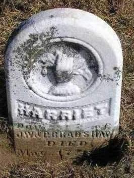 BRADSHAW, HARRIET - Madison County, Iowa   HARRIET BRADSHAW
