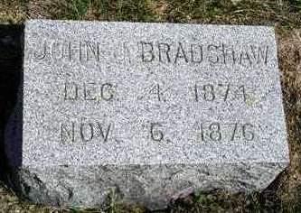 BRADSHAW, JOHN JESSE - Madison County, Iowa | JOHN JESSE BRADSHAW