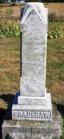 BRADSHAW, JOHN WESLEY - Madison County, Iowa   JOHN WESLEY BRADSHAW