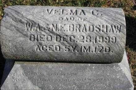BRADSHAW, VELMA C. - Madison County, Iowa | VELMA C. BRADSHAW