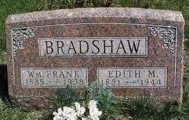 BRADSHAW, WILLIAM FRANKLIN - Madison County, Iowa | WILLIAM FRANKLIN BRADSHAW