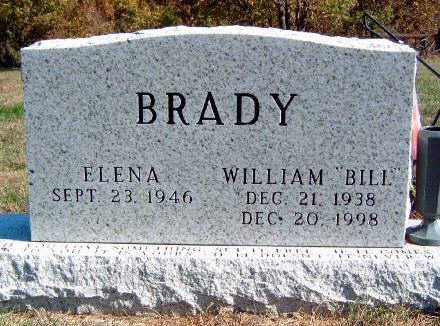 BRADY, WILLIAM D.  (BILL) - Madison County, Iowa | WILLIAM D.  (BILL) BRADY