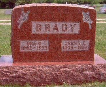 BRADY, ORA ORSON - Madison County, Iowa | ORA ORSON BRADY
