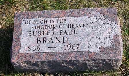 BRAND, BUSTER PAUL - Madison County, Iowa   BUSTER PAUL BRAND