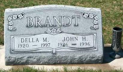 BRANDT, JOHN HENRY - Madison County, Iowa | JOHN HENRY BRANDT