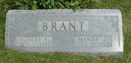 BRANT, ALBERT EDWARD - Madison County, Iowa | ALBERT EDWARD BRANT
