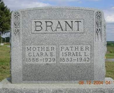 BRANT, ISRAEL L. - Madison County, Iowa | ISRAEL L. BRANT