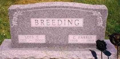 BREEDING, CHARLES FARRIS - Madison County, Iowa | CHARLES FARRIS BREEDING