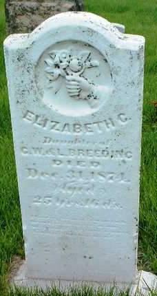BREEDING, ELIZABETH G. - Madison County, Iowa | ELIZABETH G. BREEDING