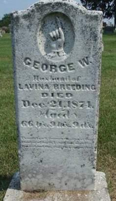 BREEDING, GEORGE W. - Madison County, Iowa | GEORGE W. BREEDING