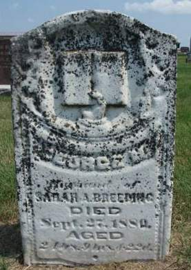 BREEDING, GEORGE MILLER - Madison County, Iowa | GEORGE MILLER BREEDING