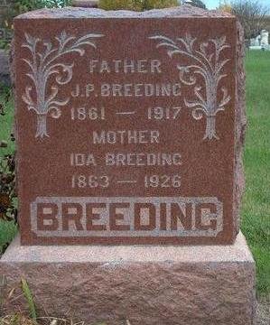 BREEDING, IDA ELIZABETH - Madison County, Iowa | IDA ELIZABETH BREEDING