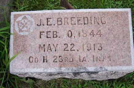 BREEDING, JAMES E. - Madison County, Iowa | JAMES E. BREEDING