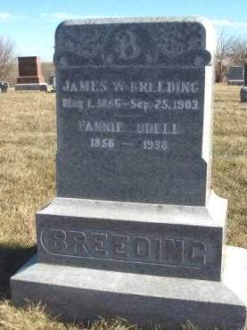 BREEDING, JAMES WILLIAM - Madison County, Iowa | JAMES WILLIAM BREEDING