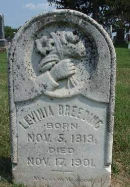 BREEDING, LEVINIA - Madison County, Iowa   LEVINIA BREEDING