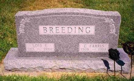 BREEDING, LOIS EILEEN - Madison County, Iowa | LOIS EILEEN BREEDING