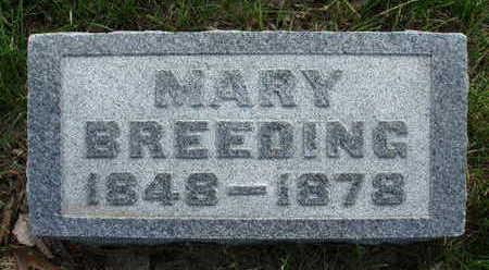 BREEDING, MARY - Madison County, Iowa | MARY BREEDING