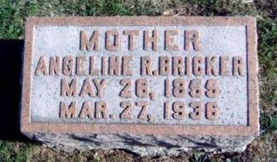 BRICKER, ANGELINE RUPERTA - Madison County, Iowa | ANGELINE RUPERTA BRICKER