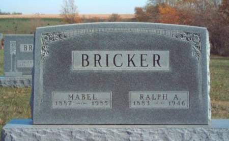 BRICKER, RALPH AUGUSTUS - Madison County, Iowa | RALPH AUGUSTUS BRICKER